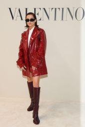 Zoey Deutch - Valentino Fashion Show in Paris 03/01/2020