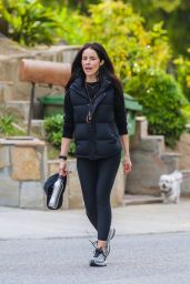 Abigail Spencer - Goes For a Walk in Studio City 03/31/2020