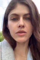 Alexandra Daddario - Live Stream 04/07/2020