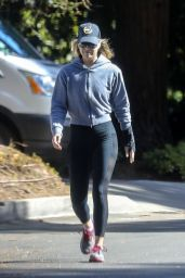 Ali Larter in Leggings - Out For a Walk in Santa Monica 04/03/2020