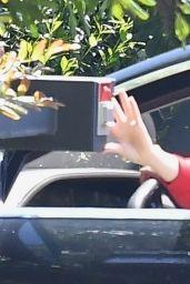 Ana De Armas - Arriving at Ben Affleck´s House in LA 04/11/2020