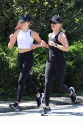Ava Phillippe – Jogging in Pacific Palisades 04/11/2020