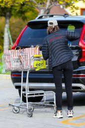 Calista Flockhart - Shops for Groceries in Santa Monica 03/31/2020