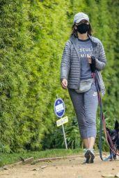 Calista Flockhart - Walks Her Dogs in LA 04/17/2020