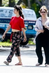 Camila Cabello and Her Mom Sinuhe Estrabao - Out in Coral Gables 04/20/2020
