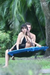 Camila Cabello and Shawn Mendes on a Swing 04/25/2020