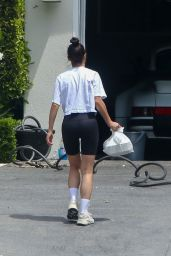Cara Santana in Leggings 04/26/2020