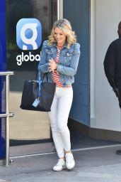 Charlotte Hawkins - Arriving at the Global Studios in London 04/24/2020