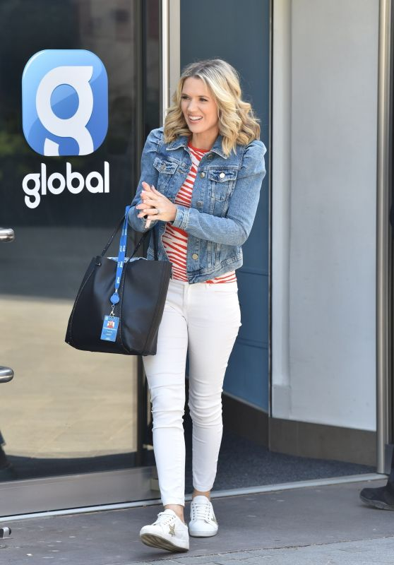 Charlotte Hawkins - Arriving at the Global Studios in London 04/24/2020