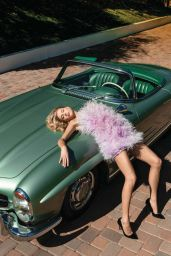 Charlotte McKinny - Ocean Drive Magazine April 2020 Issue