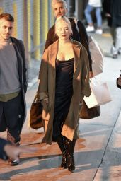 Christina Aguilera - Outside Jimmy Kimmel Live in Los Angeles 03/10/2020