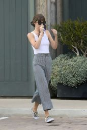 Dakota Johnson Street Style - Shopping in Malibu 04/25/2020