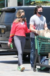Denise Richards - Grocery Shopping in Malibu 04/28/2020