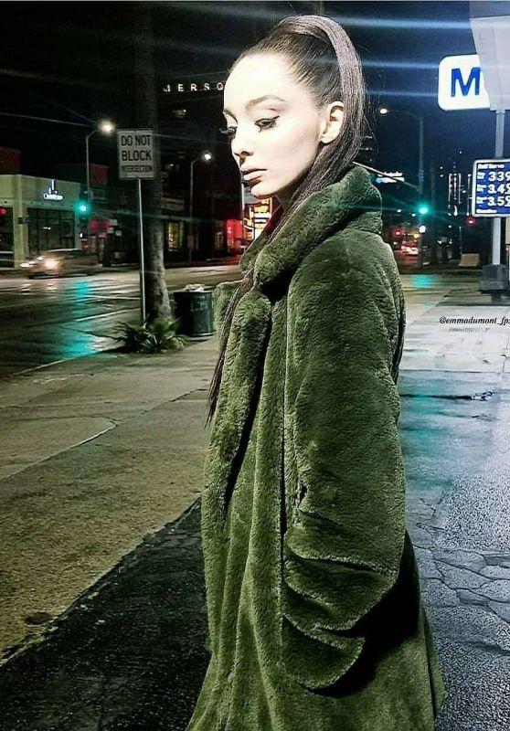 Emma Dumont - Social Media 04/25/2020
