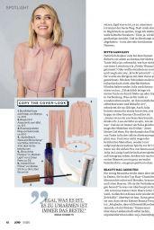 Emma Roberts - Jolie Magazine April 2020 Issue
