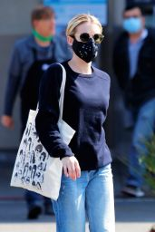 Emma Roberts - Shopping at Rite Aid in Los Feliz 04/04/2020