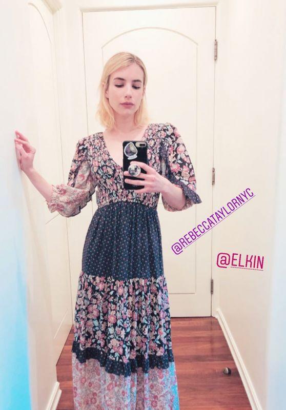 Emma Roberts Style 03/30/2020