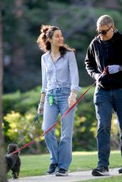 Emmy Rossum - Out in Los Angeles 04/01/2020