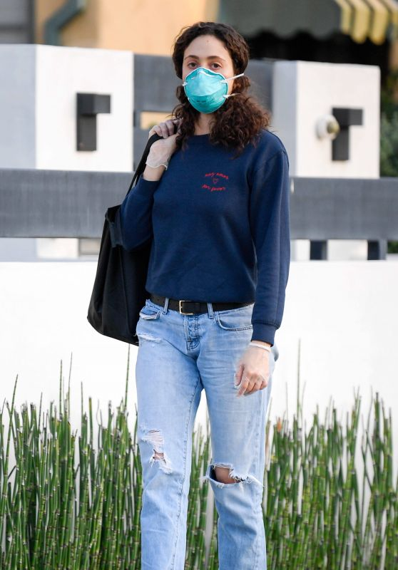 Emmy Rossum - Out in Los Angeles 04/07/2020