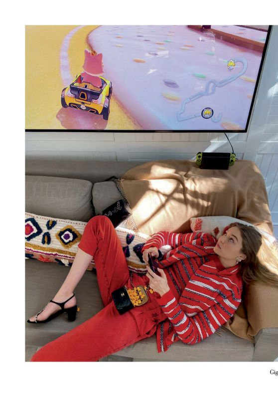 Gigi Hadid - Vogue Italy April 2020 Photo