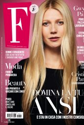 Gwyneth Paltrow - F Magazine April 2020 Issue