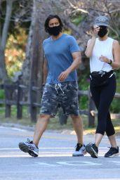 Gwyneth Paltrow with Brad Falchuk - Out in LA 04/23/2020