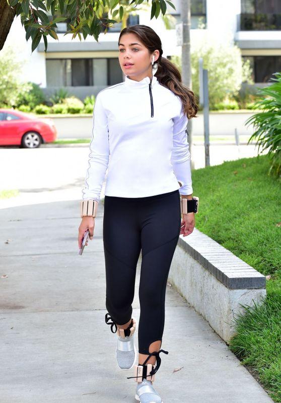 Hannah Sluss Street Style - Los Angeles 04/09/2020
