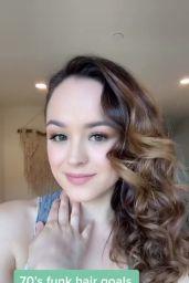 Hayley Orrantia - Social Media 04/14/2020