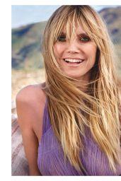 Heidi Klum - Red Magazine UK May 2020 Issue