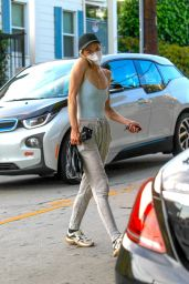 Jaime King - Leaves a Liquor Store in Hollywood 04/27/2020