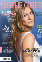 Jennifer Aniston - Good Advice May 2020 Issue