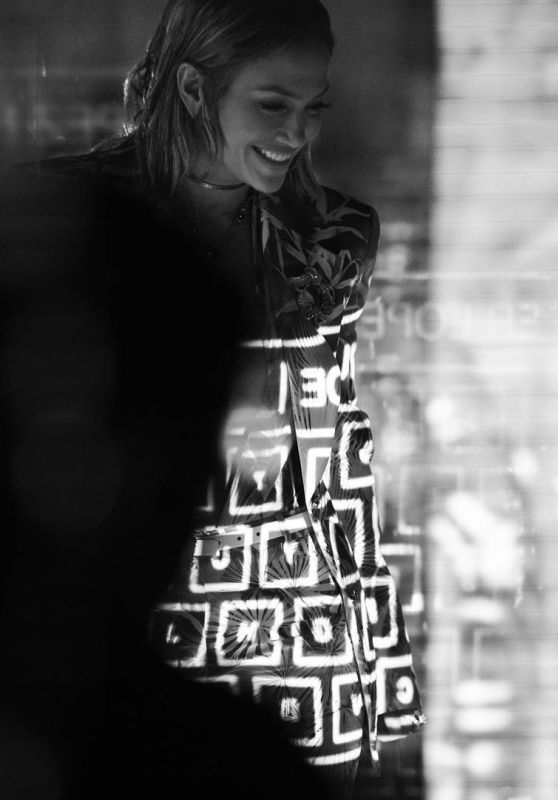 Jennifer Lopez - Versace Spring/Summer 2020 campaign