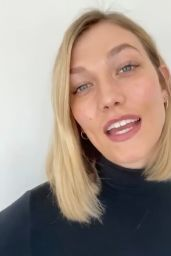 Karlie Kloss - Live Stream 04/10/2020