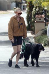Kate Bosworth Shows Off Slender Legs in Shorts - LA 04/02/2020