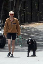 Kate Bosworth Shows Off Slender Legs in Shorts - LA 04/02/2020