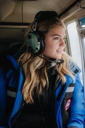 Kate Upton - Canada Goose Spring 2020