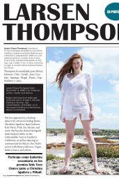 Larsen Thompson - Mayan Travel Magazine Mexico April 2020