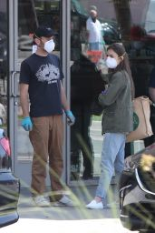 Lily Collins - Grocery Shopping in LA 04/03/2020