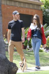 Lily Collins - Out in Beverly Hills 04/07/2020