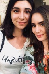 Lily Collins - Social Media 04/26/2020