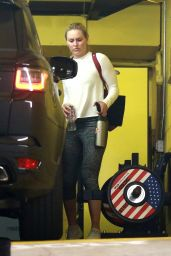 Lindsey Vonn at a Gym in Beverly Hills 04/02/2020