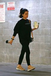 Lucy Hale Gym Ready Style 04/01/2020
