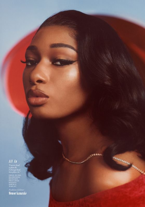 Megan Thee Stallion - Marie Claire US May 2020 Issue