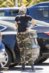 Miley Cyrus and Cody Simpson - 10 Speed Coffee in Woodland Hills 04/23/2020