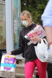 Molly Sims - Shopping in Los Angeles 04/13/2020
