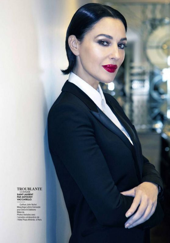 Monica Bellucci - Madame Figaro France 04/24/2020 Issue