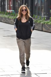 Myleene Klass - Arriving at the Global Studios in London 04/08/2020