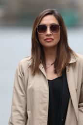 Myleene Klass in Casual Outfit - London 04/01/2020