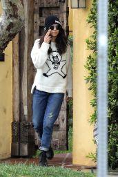 Nina Dobrev Street Style 04/06/2020