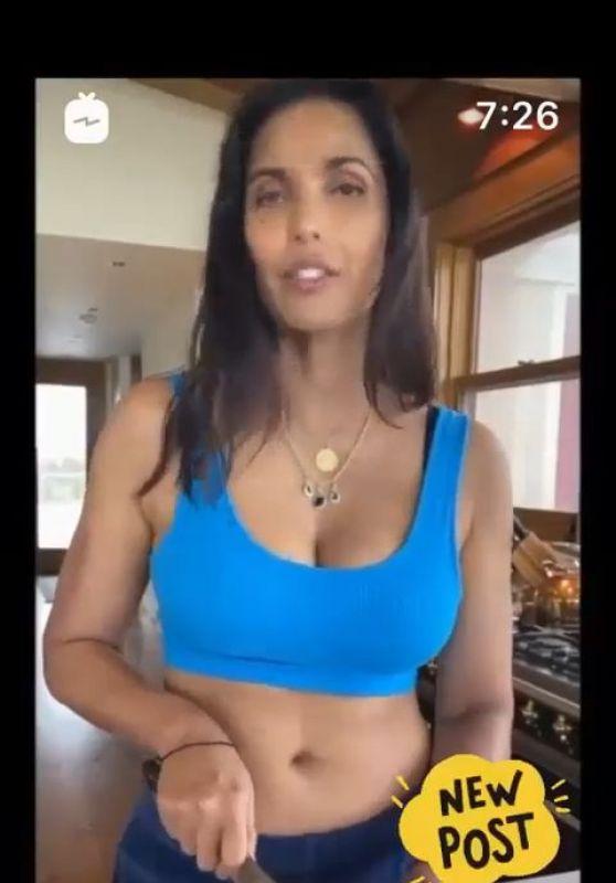 Padma Lakshmi Cooking 04/13/2020